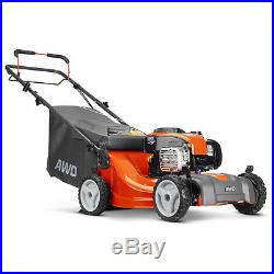 Husqvarna LC 221A 21-Inch 162cc All-Wheel Drive Gas Powered Lawn Mower