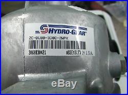 Husqvarna Oem Hydro-gear Pump 510375601 Zc-dubb-3d8c-2wpx Poulan Craftsman Rzezt