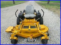 Hustler Zero Turn Mower 60 inch Deck Riding Lawnmower low original hours 23hp