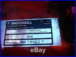 INGERSOL 222 GARDEN TRACTOR- FOR PARTS OR REPAIR