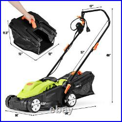IRONMAX 14 12Amp Lawn Mower Utility Electric Push Lawn Corded Mower Garden