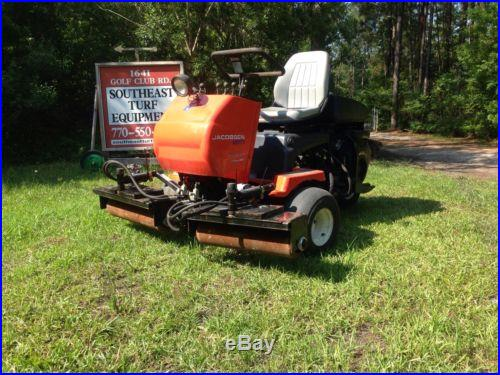 JACOBSEN GKIV GREENS MOWER WITH SPEED ROLLERS GOLF COURSE TURF FAIRWAY