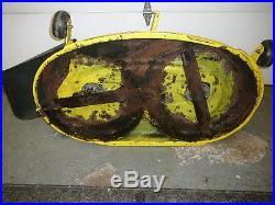JOHN DEERE 125 MOWER DECK 42 BG20814, BG200705