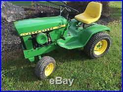 John Deere 140 H3 Garden Tractor