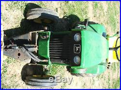 JOHN DEERE 140 H3 garden tractor 1974
