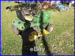 JOHN DEERE 212 16 HP LAWN TRACTOR RIDING MOWER WITH MOWING DECK