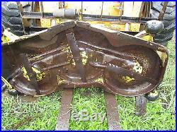 John Deere 425 445 455 Garden Tractor 54 Mower Deck With Gearbox & Shaft Good