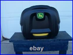 JOHN DEERE Genuine Seat AM136044 X 300 320 324 360 500 530 see description