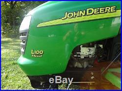 JOHN DEERE LAWN TRACTOR L-100 42 INCH DECK