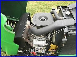 JOHN DEERE X475 AWS 48 MOWER DECK 735Hrs