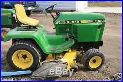 Jjohn Deere 318 Garden Tractor