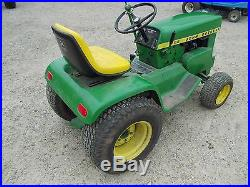 John Deere 112 lawn tractor runs & drives great Kohler engine motor