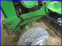 John Deere 120 some 300 series 140 Tractor 54C Mid-mount Grader Blade