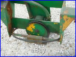 John Deere 140 Garden Tractor Johnson Frontend Loader