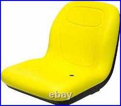 John Deere 18.80 High Back Seat Fits GT225 GT235 X300 LX172 OEM# AM131157