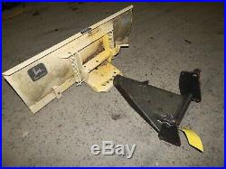 John Deere 214 Garden Tractor (42) Snow Blade Attachment-USED