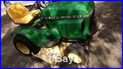 John Deere 216 Pulling Tractor Riding Lawn Mower Lawnmower