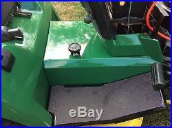 John Deere 240 Garden Tractor With 38Mower Deck. Kenzaki Tufftorq Gear Drive