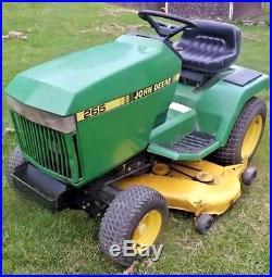 John Deere 265 Garden Tractor 17 HP Kawasaki Engine 48 Deck