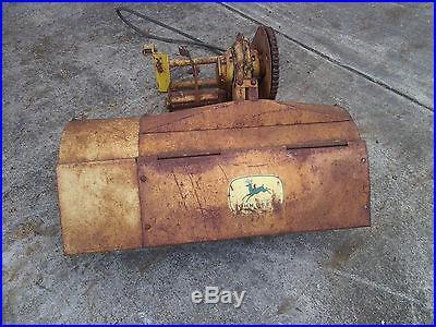 John Deere #30 tiller, 12 inch extention, hitch, slot pins, mule & lift link