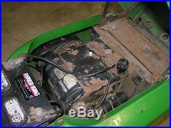 John Deere 314 Garden Tractor With 48 Deck