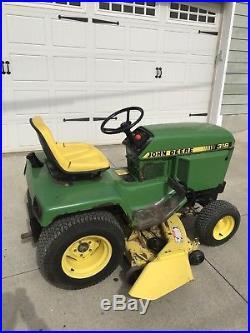 John Deere 318 316 322 330 332 Lawn and Garden tractor 50 inch mower deck