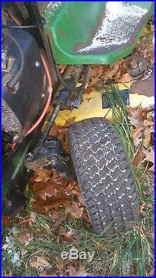 John Deere 318 lawn Garden Tractor w deck in ny