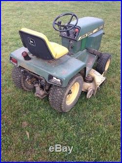 John Deere 332 garden tractor lawn mower compact tractor 318 322