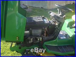 John Deere 345 lawn and garden tractor