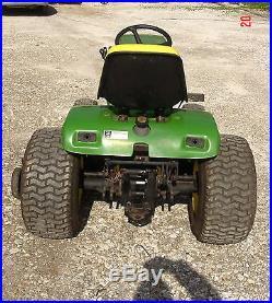 John Deere 400 Garden Tractor 60 Mower Deck Kohler K582 23hp Engine 467 Hours