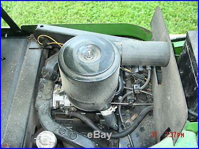 John Deere 400 Garden Tractor 60 Mower Deck NEW Engine