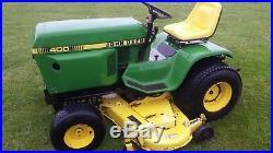 John Deere 400 Lawn Tractor
