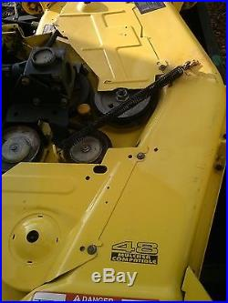 John Deere 425 48 mower deck