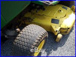 John Deere 425 garden tractor