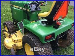 diesel garden tractor. John Deere 430 Diesel Garden Tractor Mower 60 Inch Deck