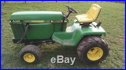 John Deere 430 diesel garden tractor with 60 inch deck