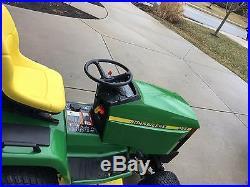 John Deere 455 Diesel Garden Tractor 54 deck Excellent Shape 425 445 Lawn mower