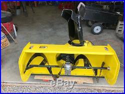 John Deere 47 Snowblower for X500 Multi-Terrain Tractors. Never Used