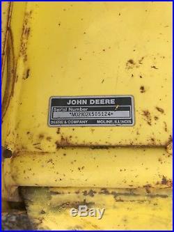 John Deere 48 Tiller 2000 RPM 318 332 322 330 420 430