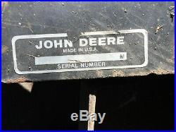 John Deere 54C Midmount Grader Center Blade 120 140 300 312 314 316 317