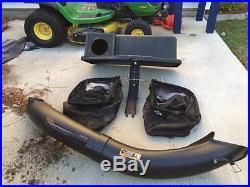 John Deere 6.5-Bushel Twin Bagger for 42-in riding mower