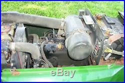 John Deere 755 Diesel 4X4 Tractor with 60 Deck Mows Grass DECK IS VERY POOR SHAPE