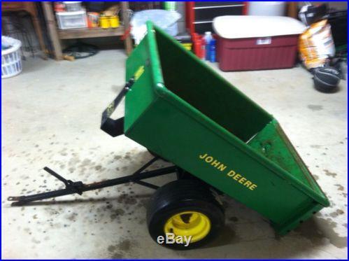John Deere 80 Lawn Cart