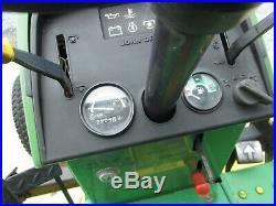 John Deere 855 24hp 4wd tractor with 60 mowing deck