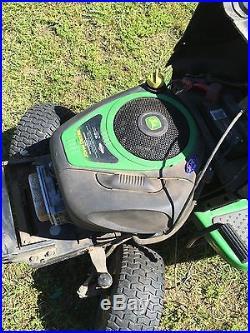 John Deere Briggs & Stratton Lawnmower Engine Motor 19.5 HP 195 MILES SEE VIDEO