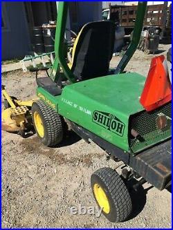 John Deere F911 commercial Riding Lawn mower 60 deck 1,448 hrs. 2WD VIDEO