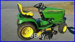 John Deere GT225 garden tractor/riding mower