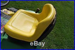 John Deere GT235 riding lawn mower garden tractor, 18hp 54 deck, foot hydrostat