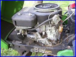 John Deere GT242 garden Tractor, 48 cutting deck 6-speed transmission