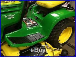 John Deere Gt275 Garden Tractor Riding Mower 54 Inch Deck Astounding Condition